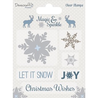 Clear Stamp Magic&Sparkle Snowflakes
