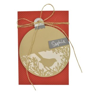 Sizzix Thinlits Set - Festive Bird