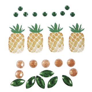 Deko-Sticker: Tropic-Ananas