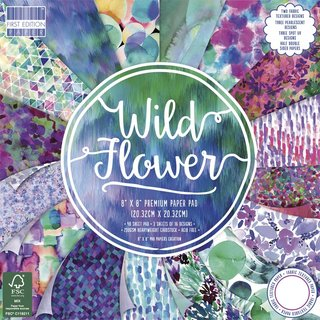 Scrap-Block Wild Flowers,FSC MixCred.
