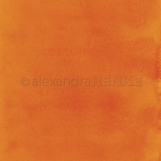 Designpapier Mimis Kollektion Aquarell orange
