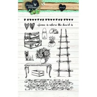 Clear-Stamps Love + Home