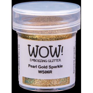WOW! Embossing Pulver - Pearl Gold Sparkle