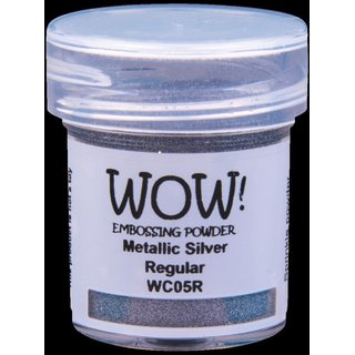 WOW! Embossing Pulver - Metallic Silver