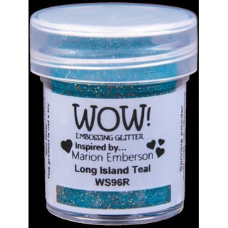 WOW! Embossing Pulver - Long Island Teal