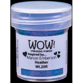 WOW! Embossing Pulver - Heather