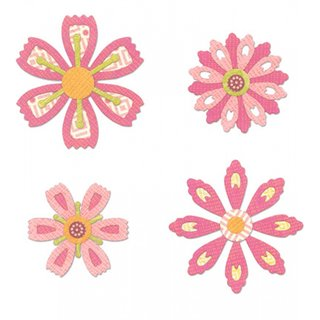 Sizzix Thinlits Set- Flowers