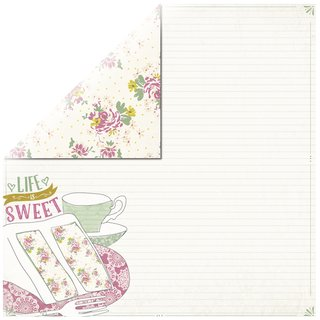 Scrapbookingpapier Sweetened