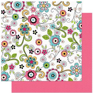 Scrapbookingpapier Press - Petal Pushers Collection