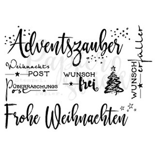 Clearstamps-Set Weihnachten