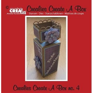 Crealies-Create a box No.4