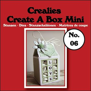 Crealies-Create a box No.6 Mini-Milchkarton