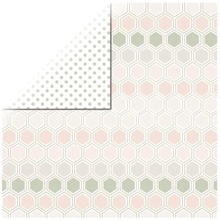 Scrapbookingpapier Honey