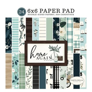 Scrapbookingblock Home Again Collection - Paper Pad 15,3...