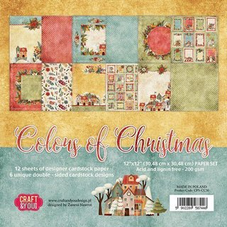 Colors of Christmas 12x12 (30,5 x 30,5 cm)...