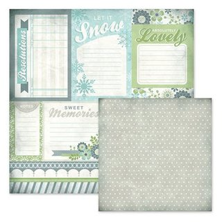 Scrapbookingpapier Weihnachten We R Memory Keepers Winter...