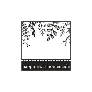 Stempel  happiness is homemade