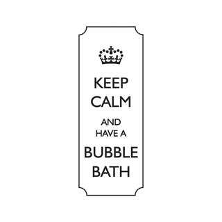 Stempel  Keep calm and have a bubble...