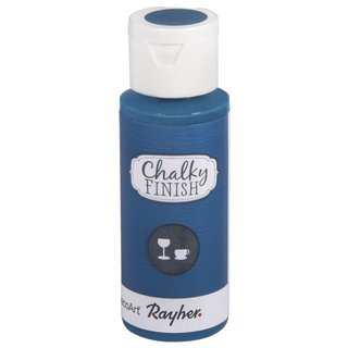 Chalky Finish for glass coelinblau