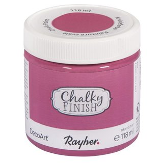 Chalky Finish Pink