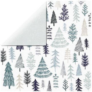 Scrapbookingpapier Winter